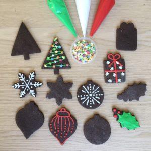 Chocolate Christmas Cookie Kit
