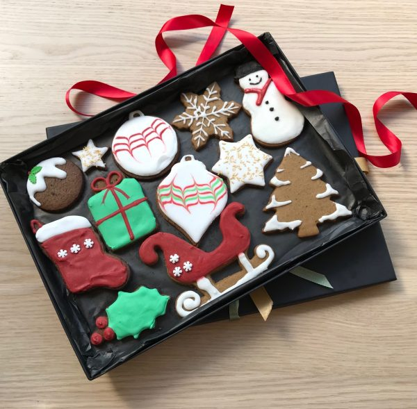 Christmas Biscuit Gift Box