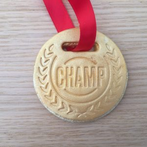 Cookie Medal CHamp