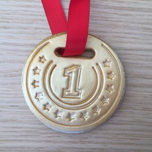 Medal COokie NUmber 1