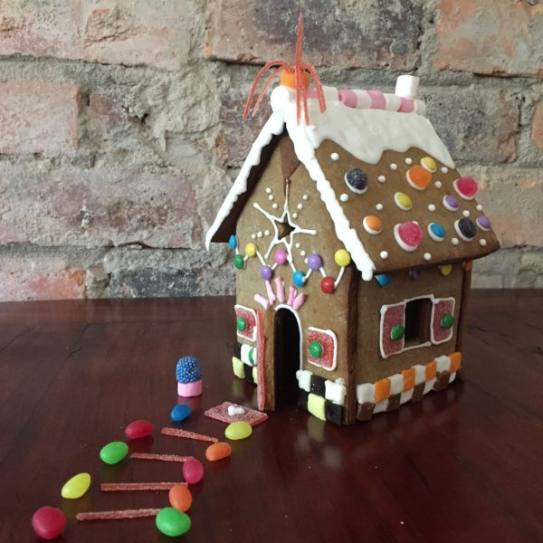 Gingerbread House Kit with Sweets