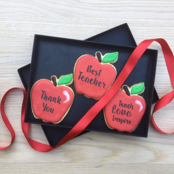 Teacher Thank You Cookie Gift Box