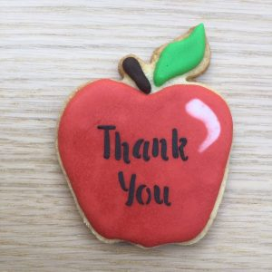 Thank You apple Cookie
