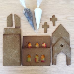 Gingerbread Church Kit 2