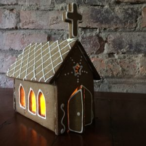 Gingerbread Church Kit